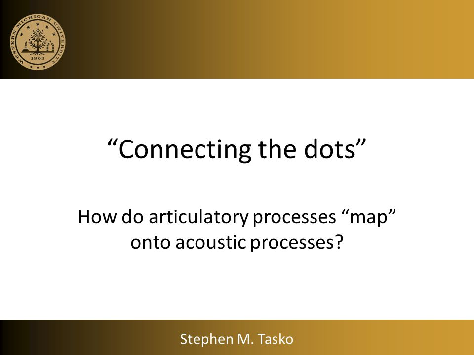 How do articulatory processes map onto acoustic processes