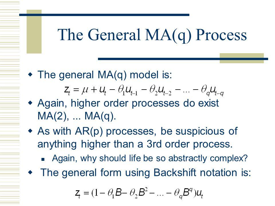 The General MA(q) Process