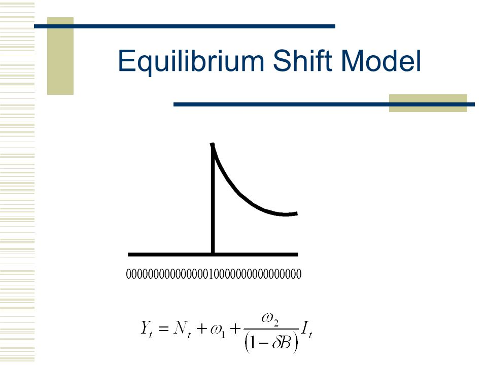 Equilibrium Shift Model