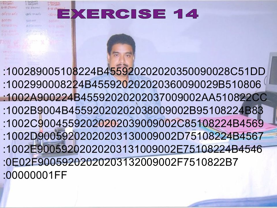 EXERCISE 14 : B C51DD. : B B