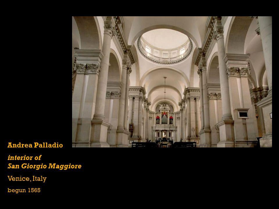 interior of San Giorgio Maggiore