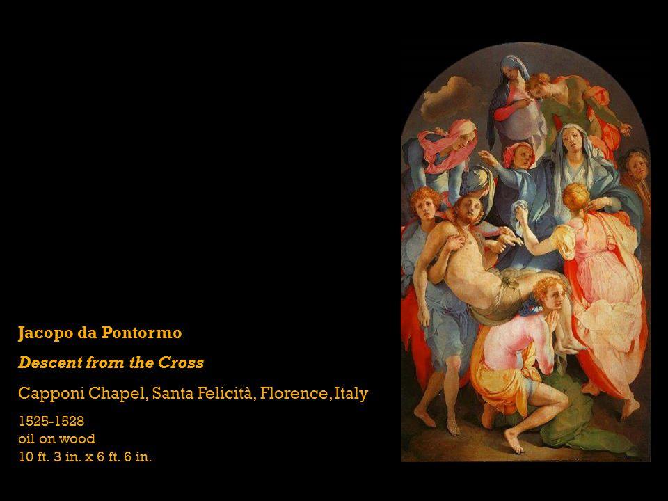 Capponi Chapel, Santa Felicità, Florence, Italy
