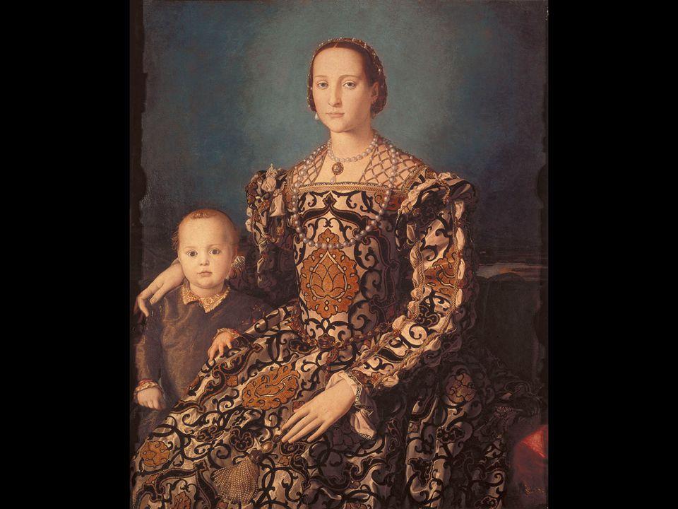 Agnolo Bronzino. Portrait of Eleanora of Toledo and