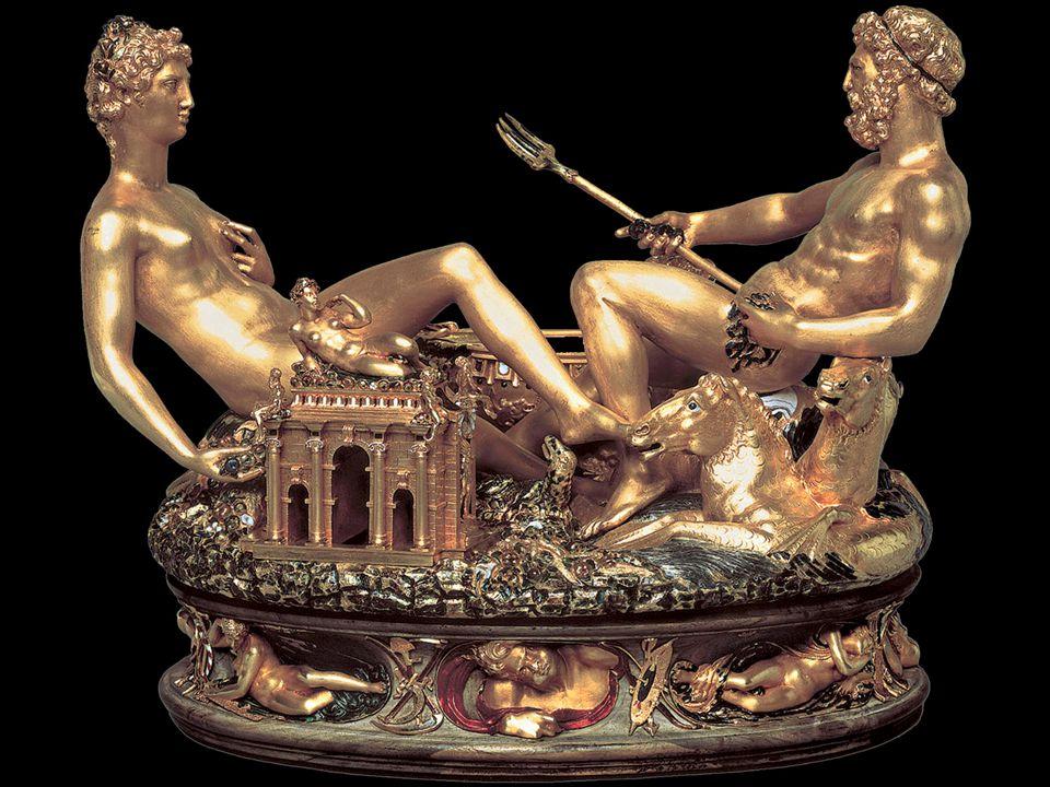Benvenuto Cellini. Saltcellar of Francis I. 1540–43