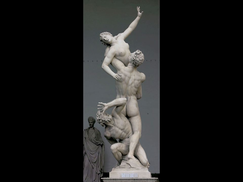 Giovanni Bologna. The Rape of the Sabine Woman. Completed 1583