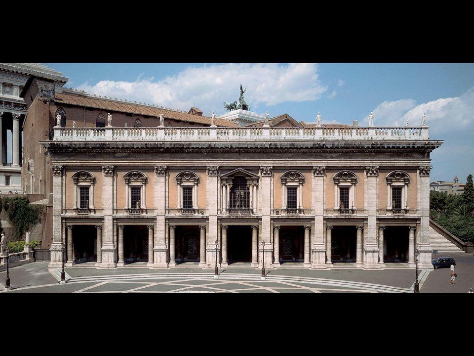 Michelangelo. Palazzo dei Conservatori, Campidoglio, Rome