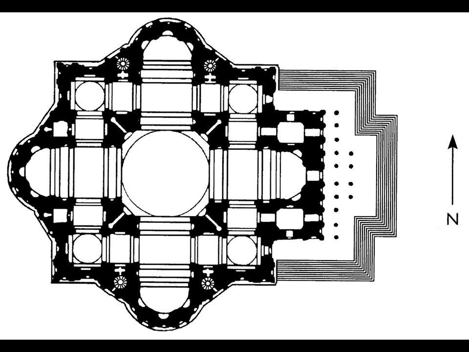 Michelangelo. Plan for St. Peter's