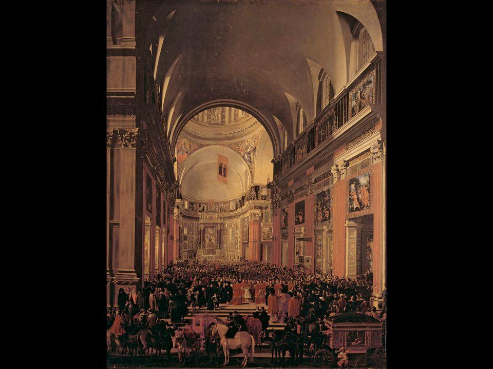 Andrea Sacchi and Jan Miel. Urban VIII Visiting Il Gesù. 1639–41