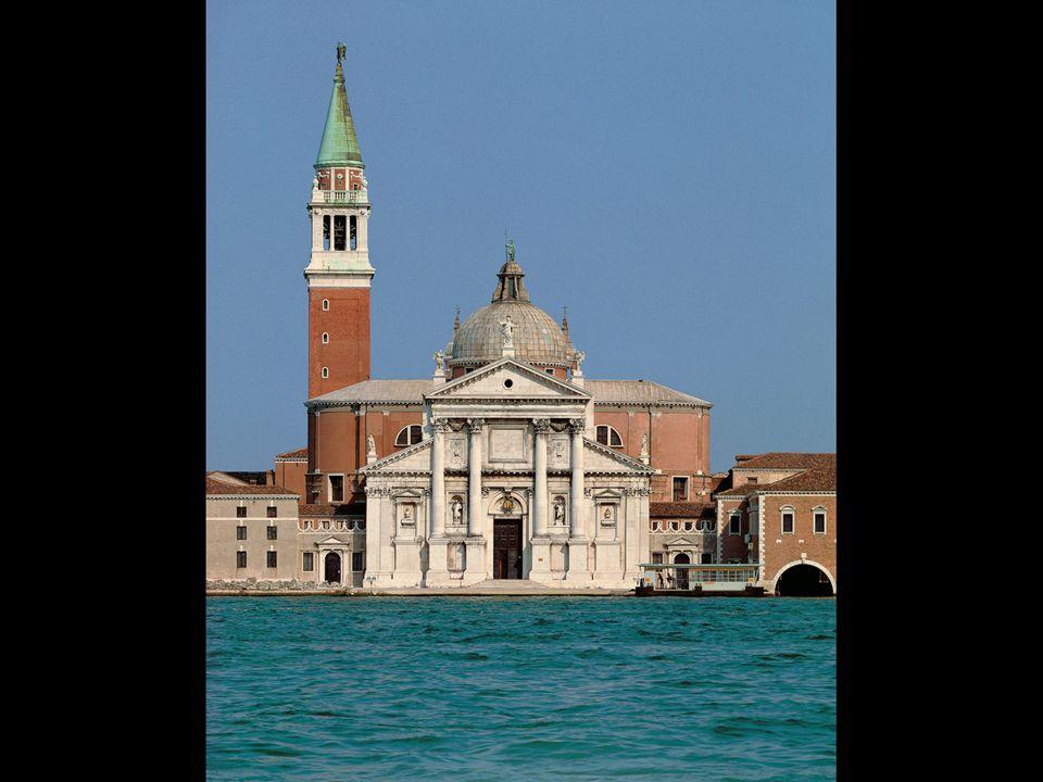Andrea Palladio. Church of San Giorgio Maggiore, Venice. Designed 1565