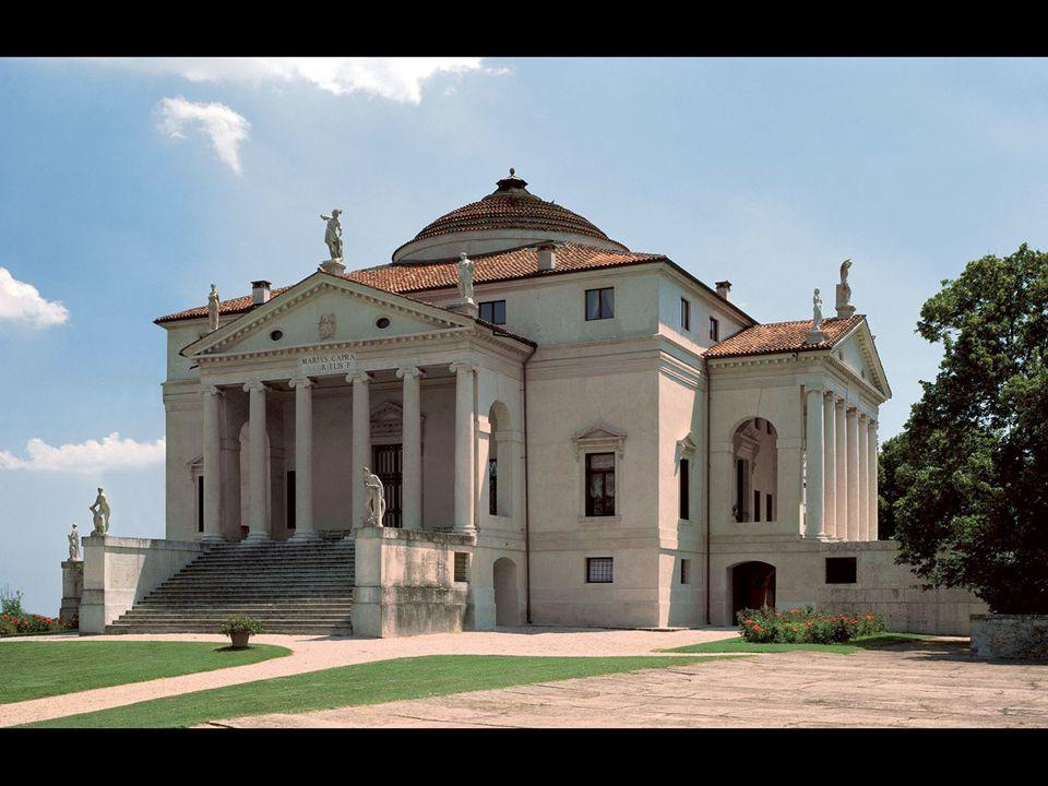 Andrea Palladio. Villa Rotonda, Vicenza. ca. 1567–70