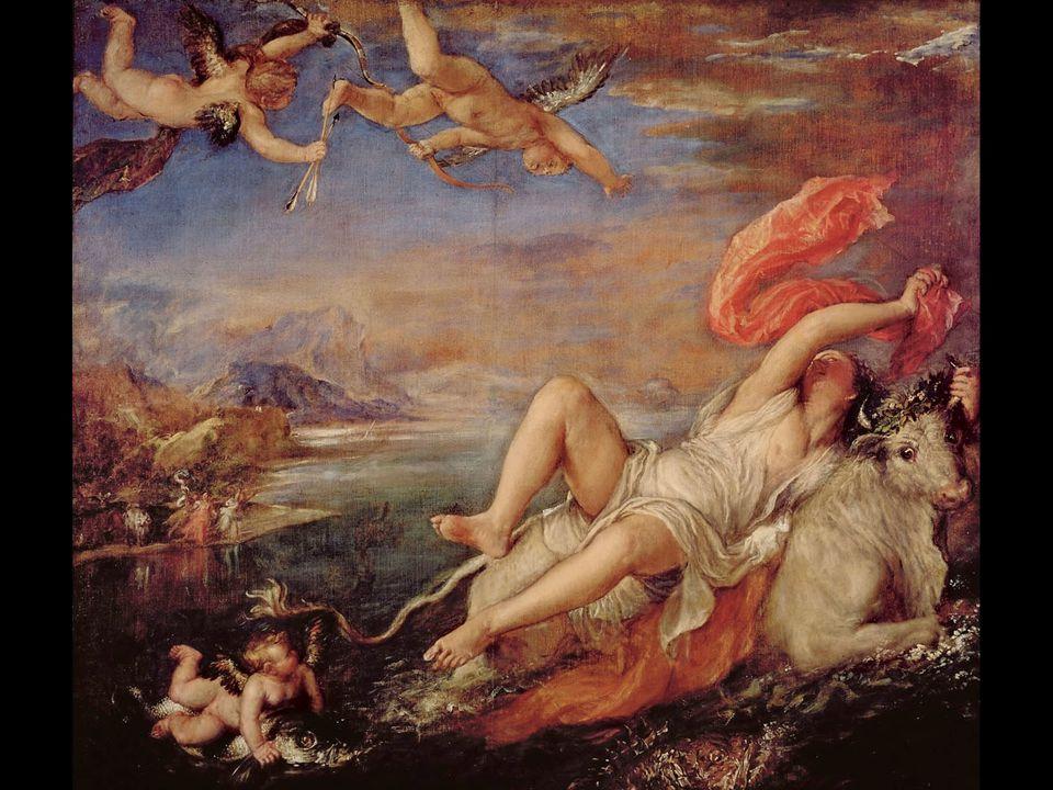 Titian. Rape of Europa. 1559–62 Figure 17.36 38