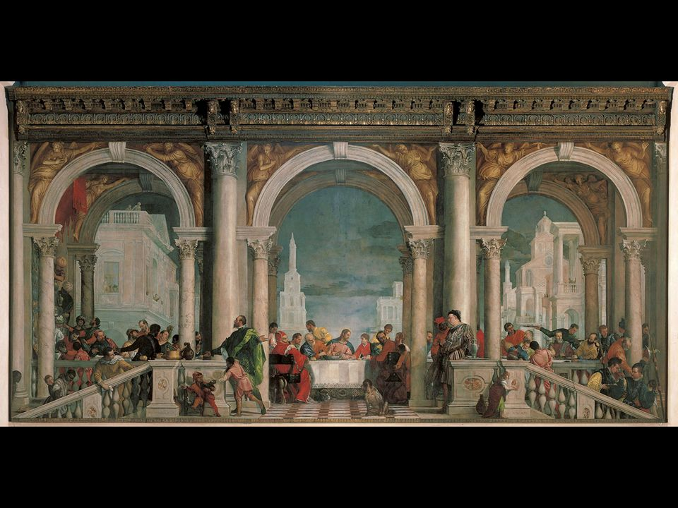 Paolo Veronese. The Feast in the House of Levi. 1573