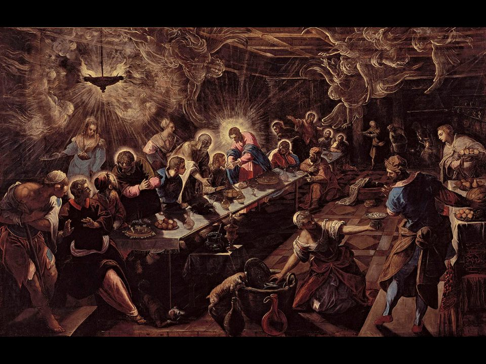 Jacopo Tintoretto. The Last Supper. 1594