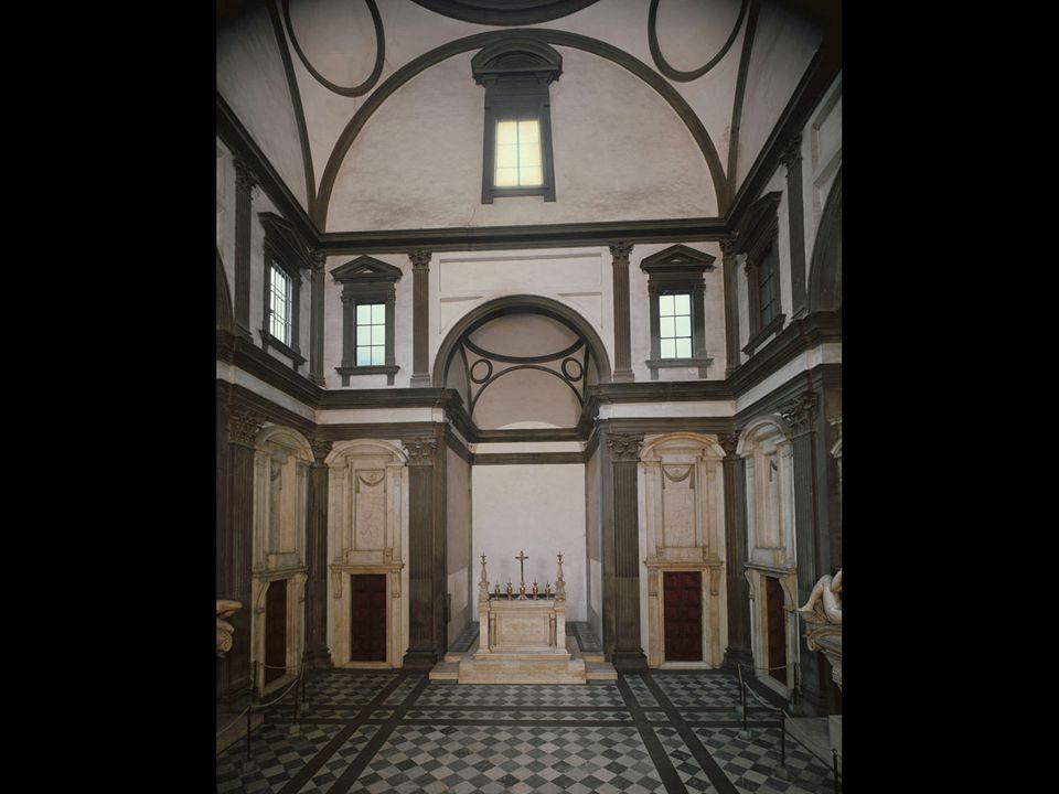 Michelangelo. New Sacristy, San Lorenzo, Florence. 1519–34