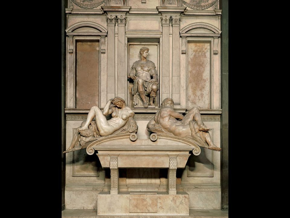 Michelangelo. Tomb of Giuliano de' Medici