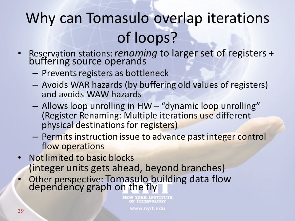 Why can Tomasulo overlap iterations of loops