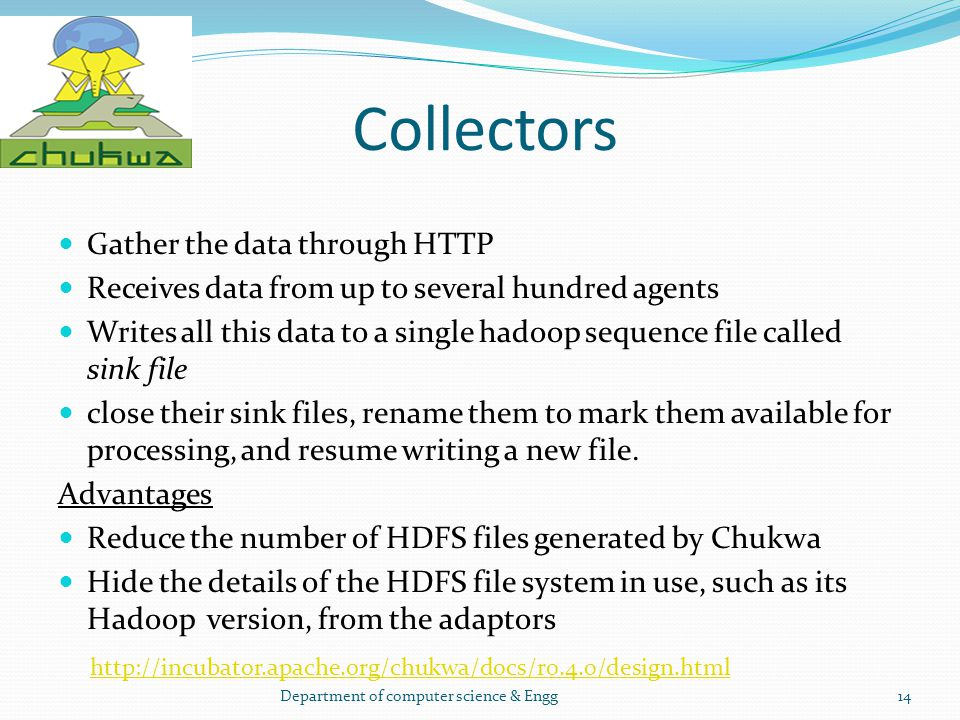 Collectors Gather the data through HTTP