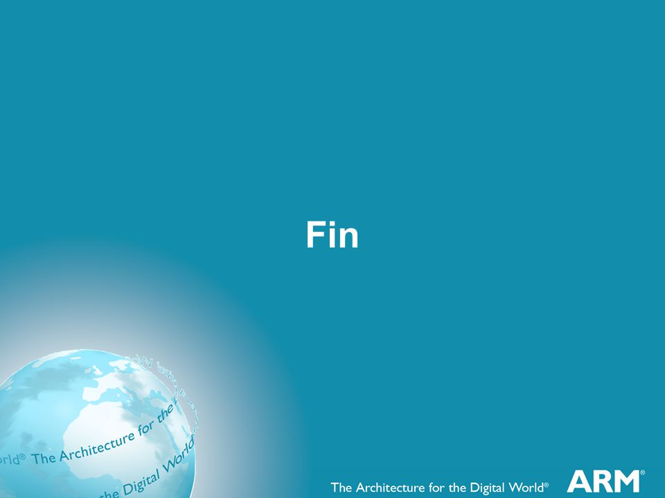 Fin FIN means end in French.