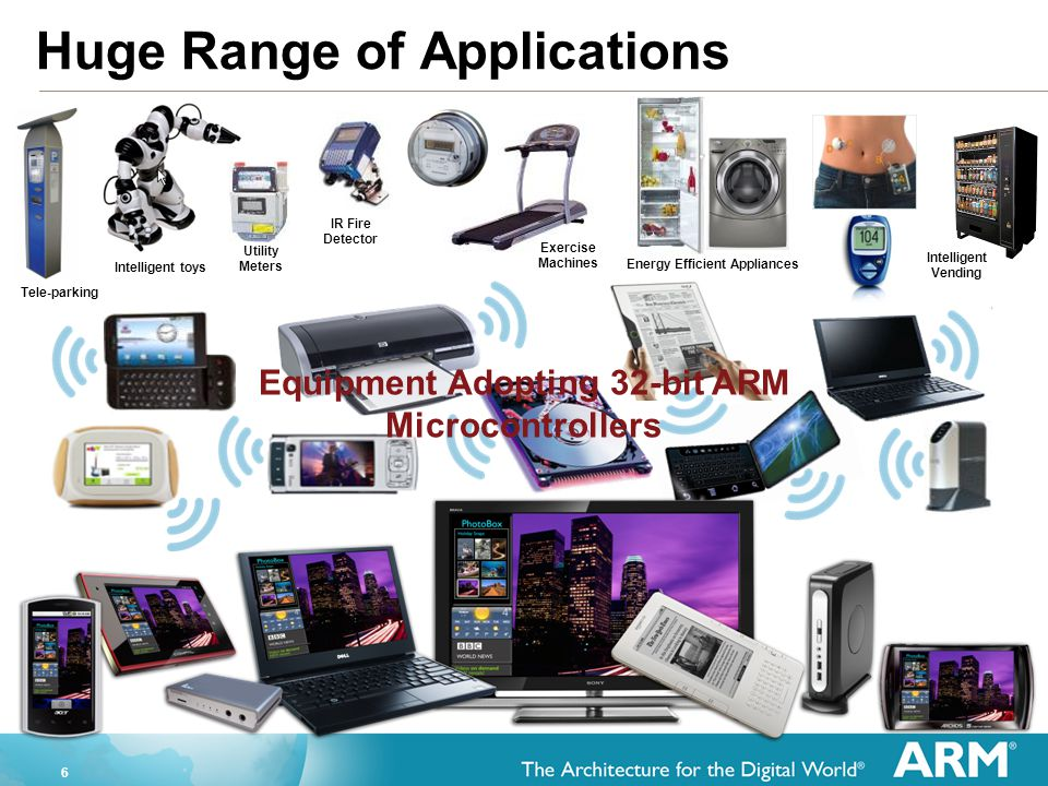 Huge Range of Applications