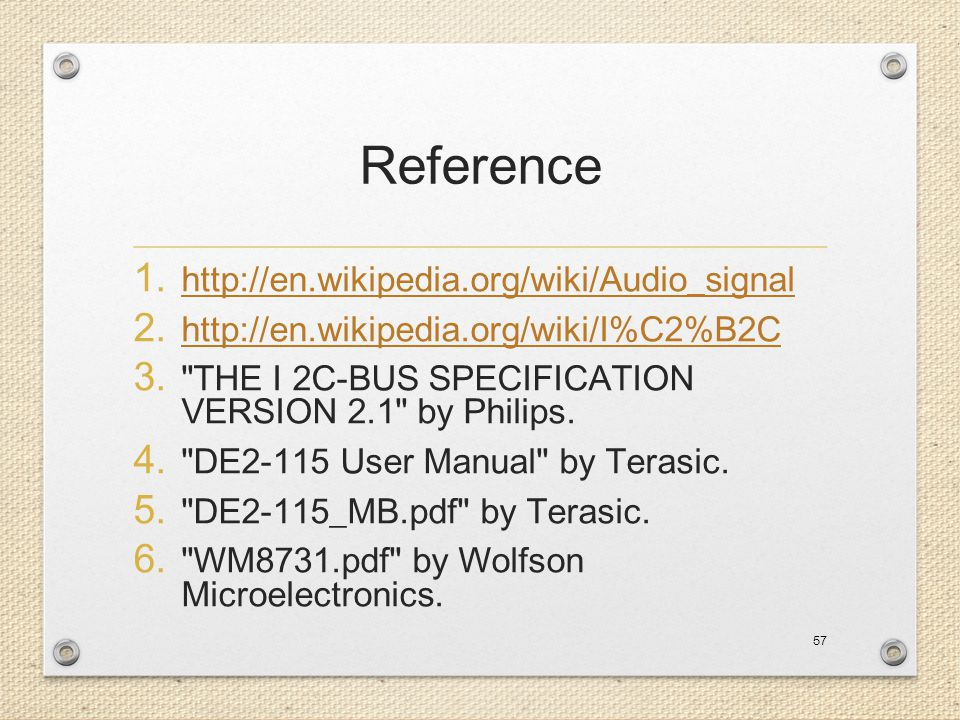 Reference http://en.wikipedia.org/wiki/Audio_signal