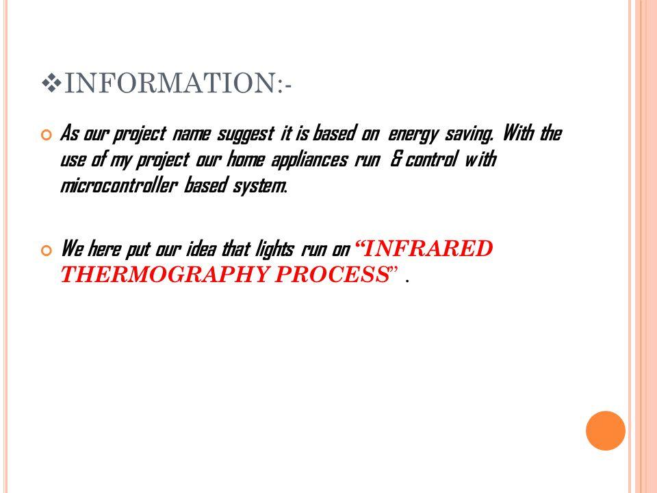 INFORMATION:-