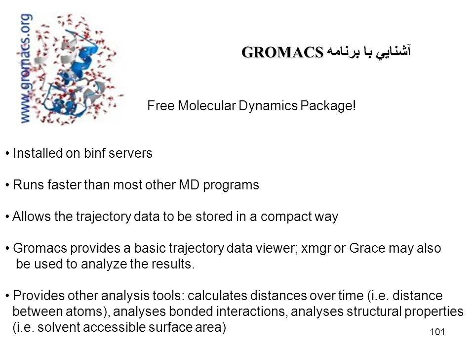 آشنايي با برنامه GROMACS