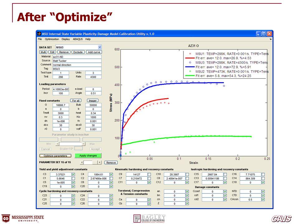 After Optimize