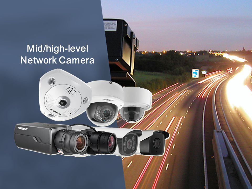 Mid/high-level Network Camera