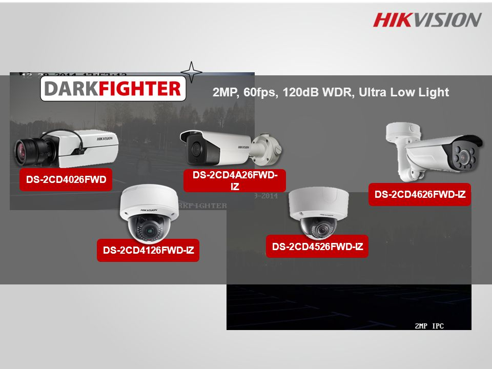 2MP, 60fps, 120dB WDR, Ultra Low Light