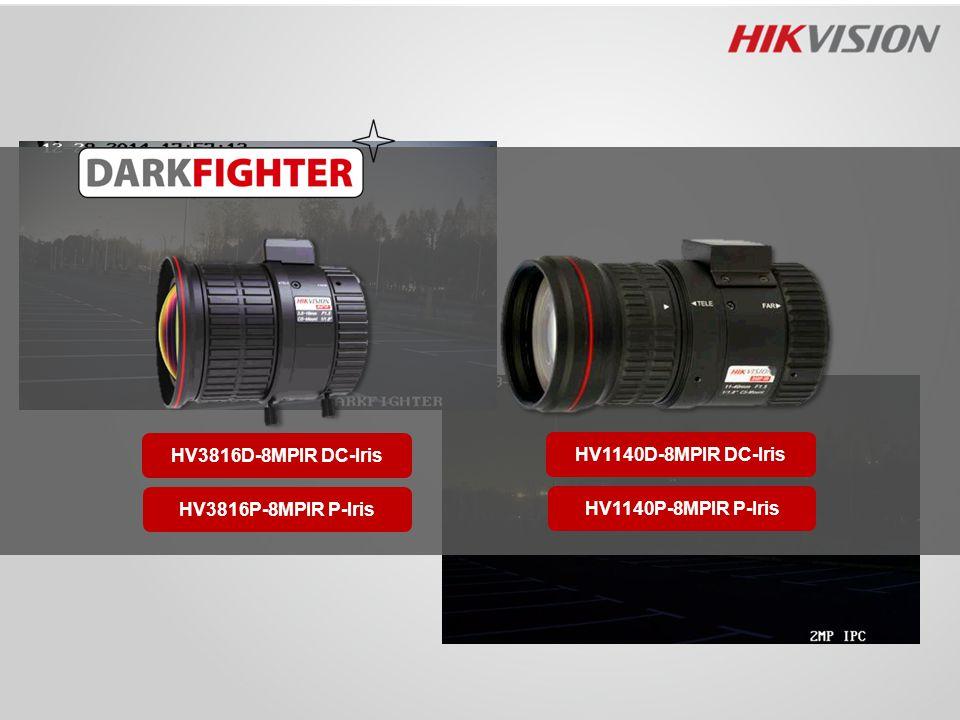 HV3816D-8MPIR DC-Iris HV1140D-8MPIR DC-Iris HV3816P-8MPIR P-Iris HV1140P-8MPIR P-Iris