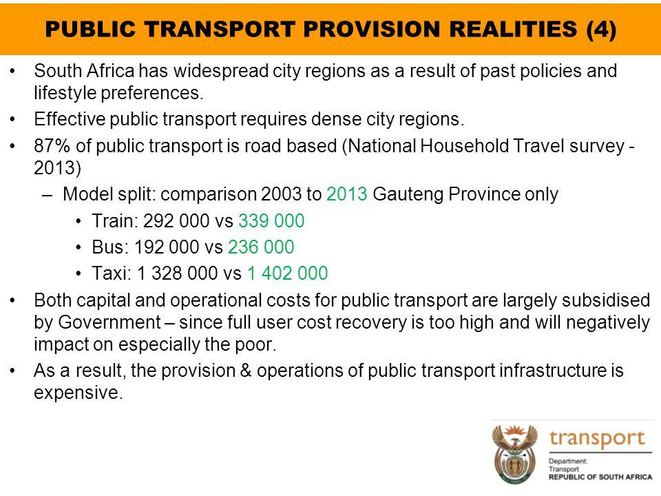 PUBLIC TRANSPORT PROVISION REALITIES (4)