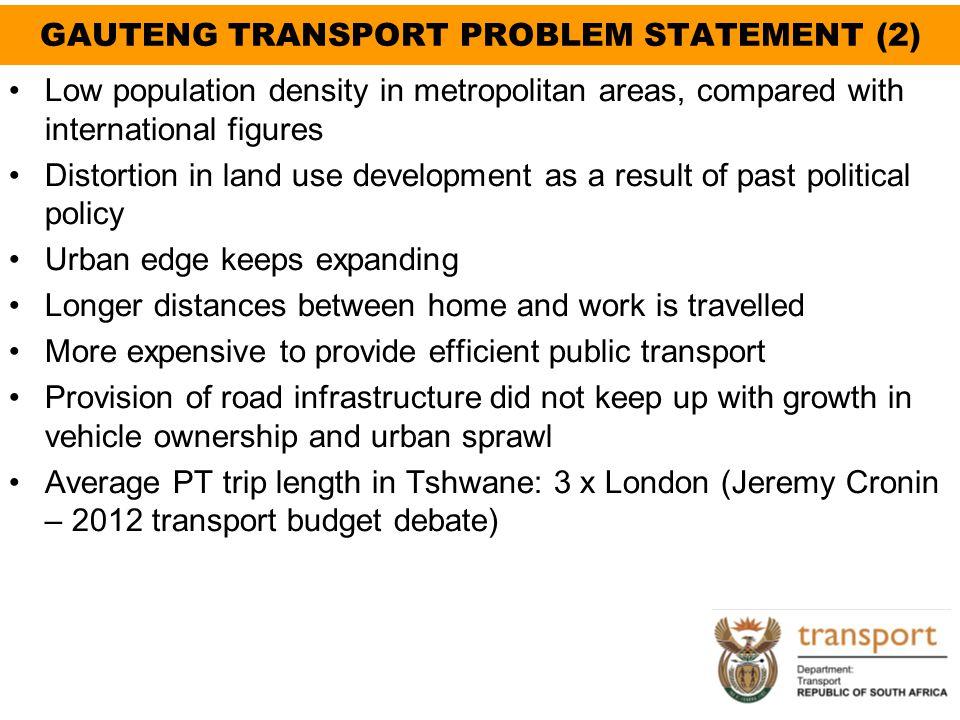 GAUTENG TRANSPORT PROBLEM STATEMENT (2)