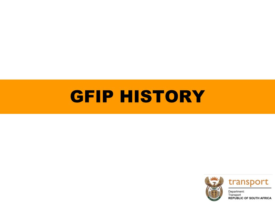 GFIP HISTORY