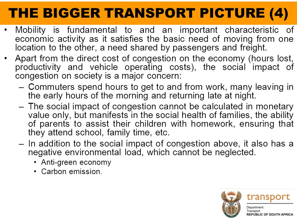 THE BIGGER TRANSPORT PICTURE (4)