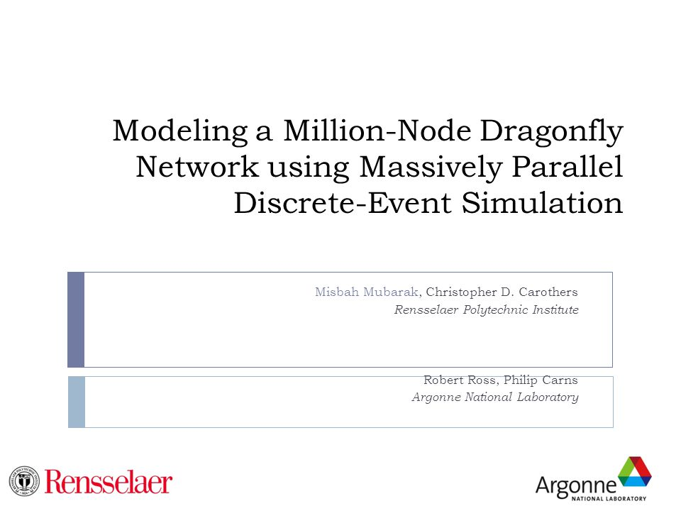 Modeling a Million-Node Dragonfly Network using Massively Parallel Discrete-Event Simulation