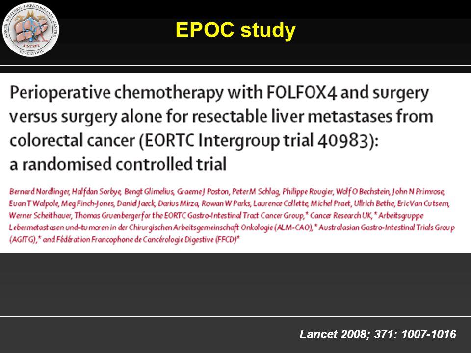EPOC study Lancet 2008; 371: 1007-1016 5
