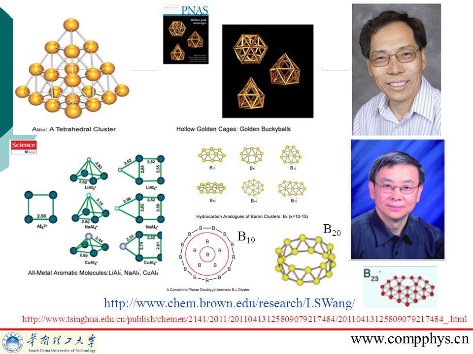 B20 B19 http://www.chem.brown.edu/research/LSWang/