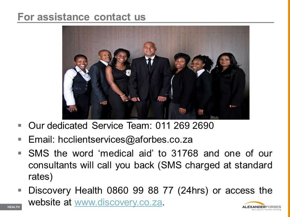 For assistance contact us