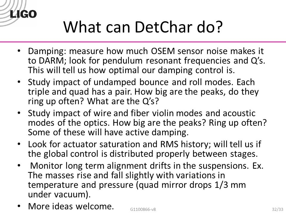 What can DetChar do