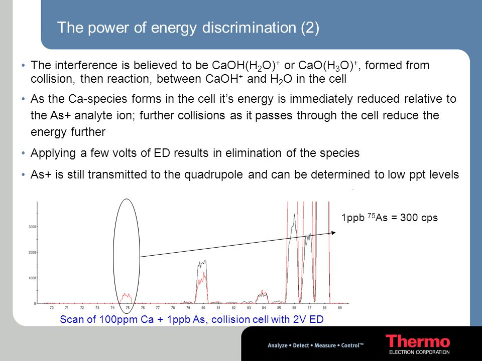 The power of energy discrimination (2)