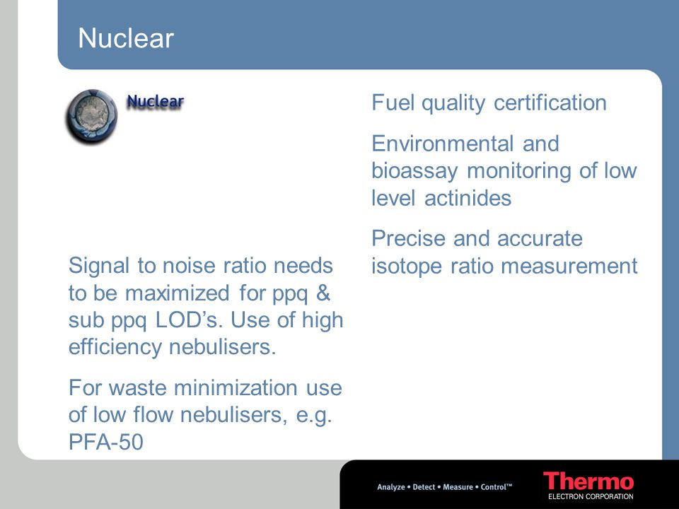 Nuclear Fuel quality certification