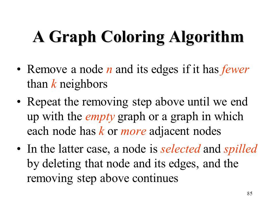 A Graph Coloring Algorithm