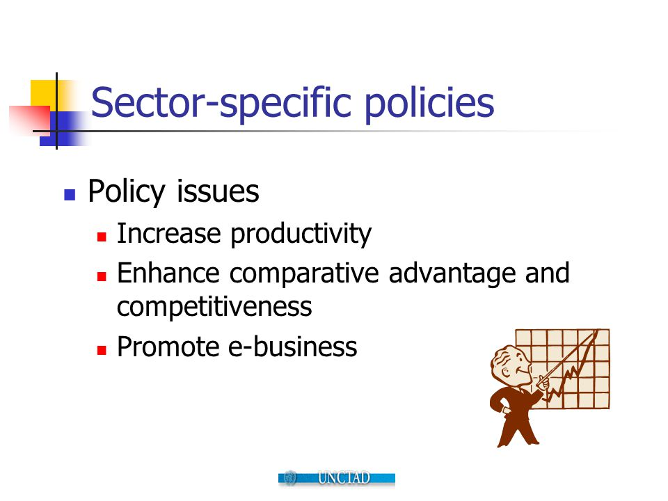 Sector-specific policies