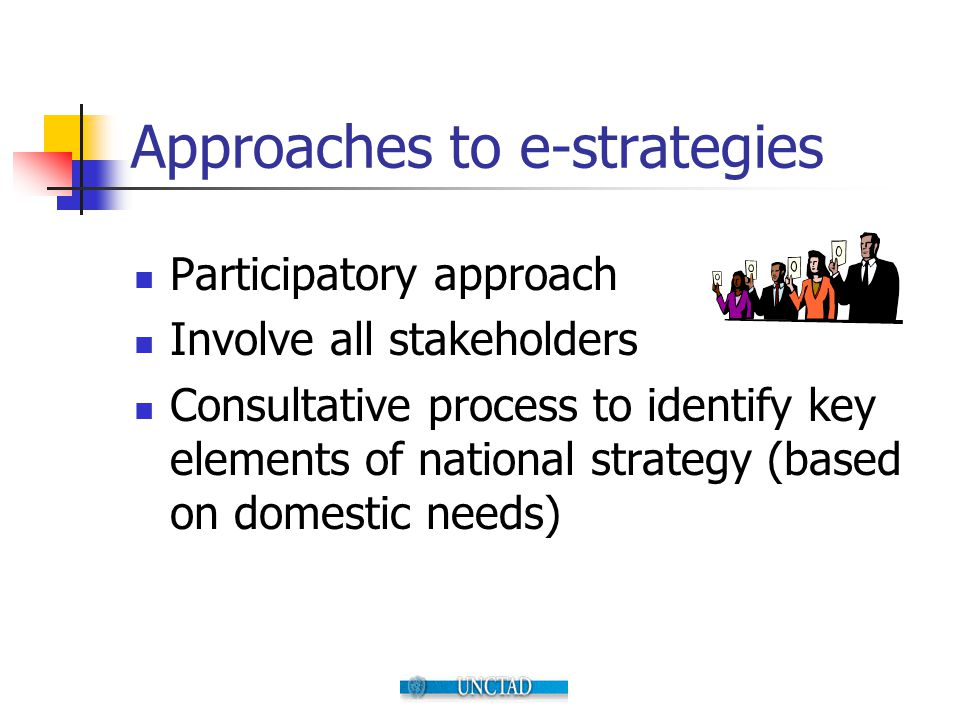 Approaches to e-strategies