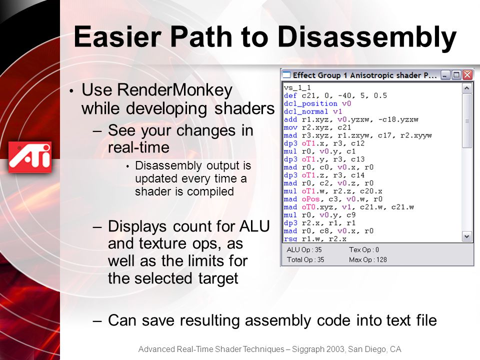 Easier Path to Disassembly
