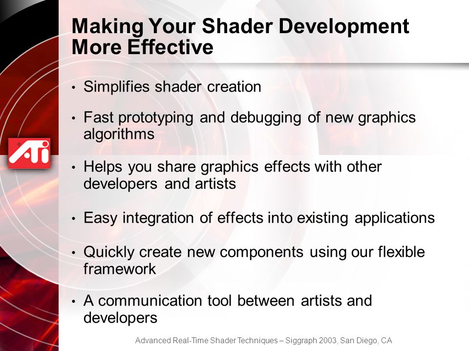 Making Your Shader Development More Effective