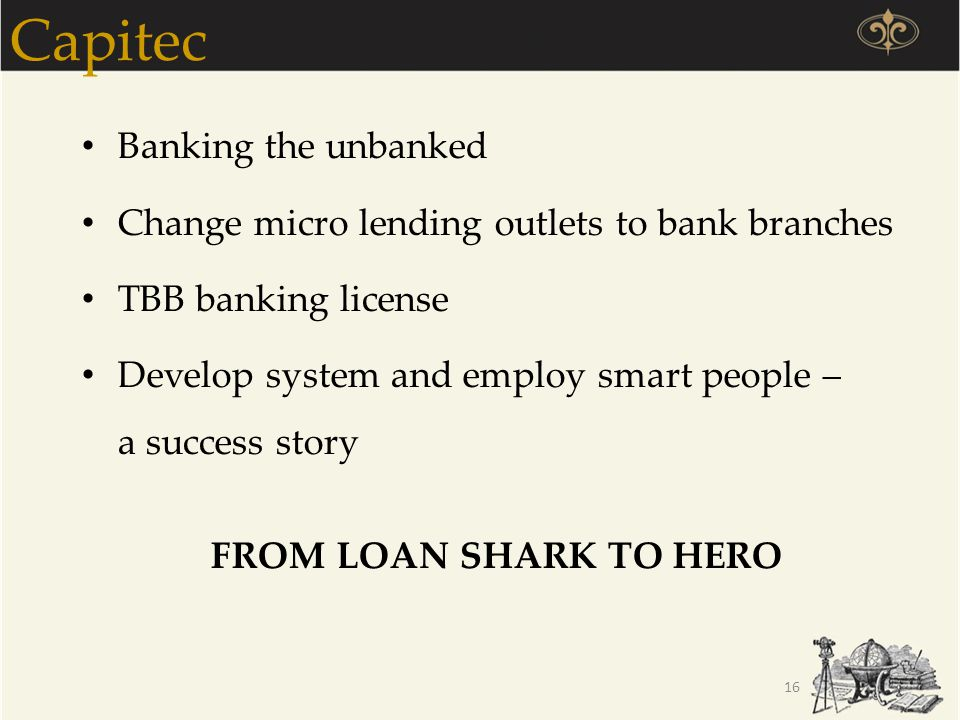 Capitec Banking the unbanked