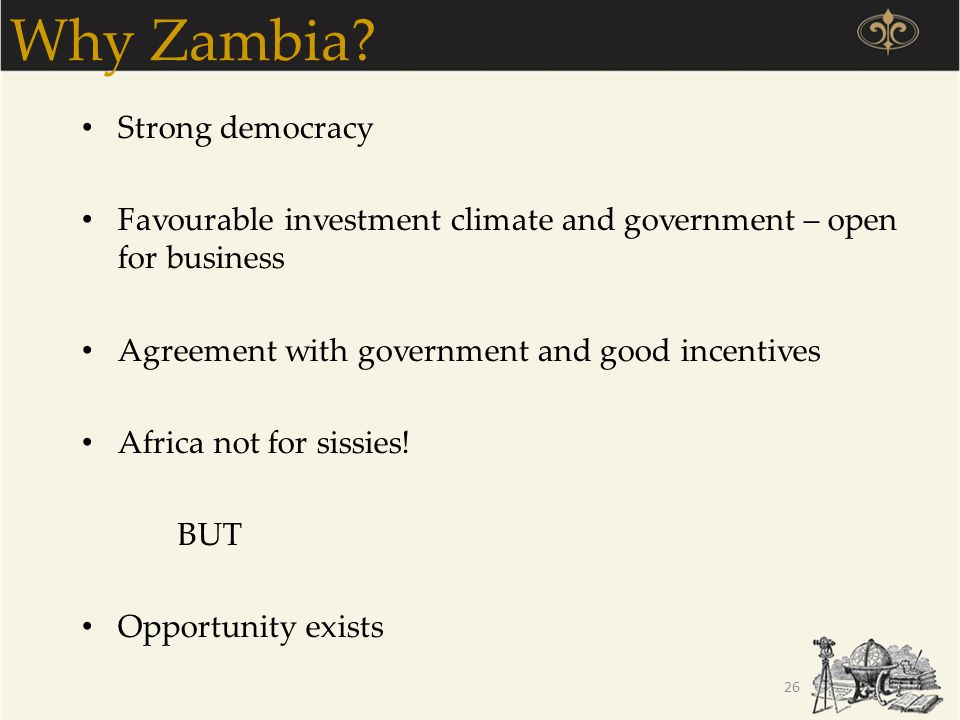 Why Zambia Strong democracy