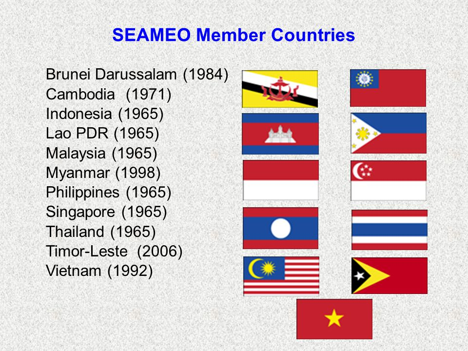 SEAMEO Member Countries