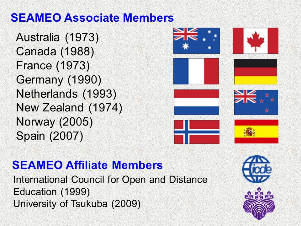 SEAMEO Associate Members